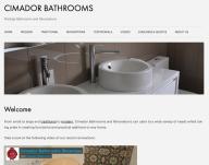 www.cimadorbathrooms.com