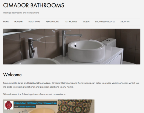www.cimadorbathrooms.com