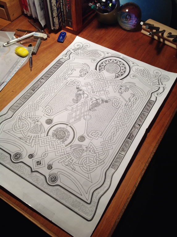 Celtica Project - Hand Drawn