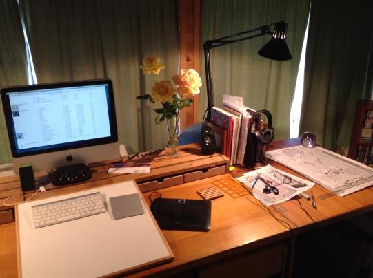 Old studio Desk
