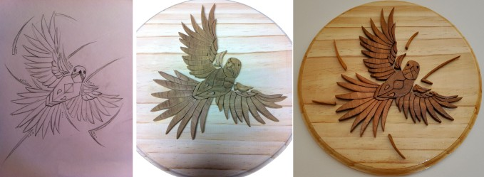 wood-bird-triptich