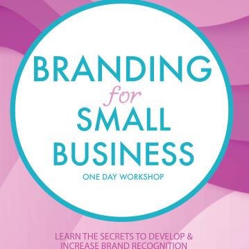 branding workshop flier